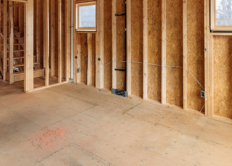 plywood subfloor